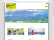 Aderita Art Gallery Website With Online Shop